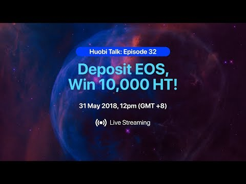 EOS Mainnet Launch – What to expect?  Catch Huobi Talk this Thursday, 31st May at 12pm (GMT+8)!