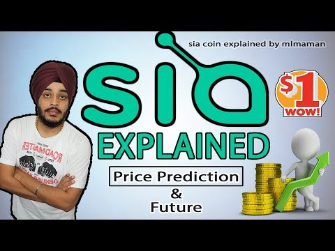 Sia Coin Full Review | Sia Coin Price Prediction | June 2018 and 2019 Price Prediction | SiaCoin