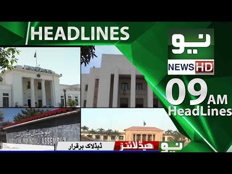 News Headlines – 09:00 AM | 31 May 2018 | Neo News