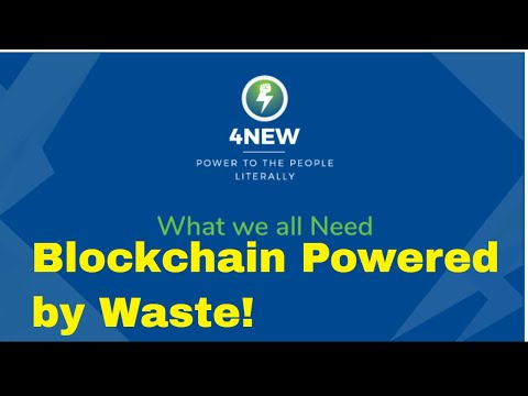 Why 4NEW will REVOLUTIONIZE the way Bitcoin is MINED!  | Waste & Blockchain