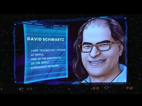 David Schwartz From Ripple At BlockShow Europe 2018 May 29th