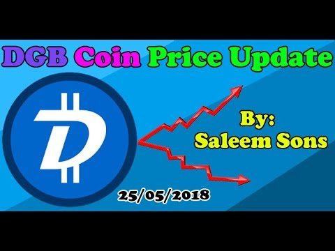 Digibyte (DGB) Coin Price Update By Saleem Sons 25/05/2018