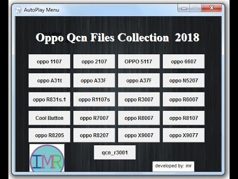 Oppo QCN Files Collection 2018 || Oppo Qcn File Download Tool