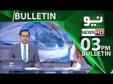 News Bulletin   03:00 PM – 31 May 2018   Neo News HD