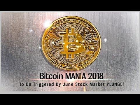 Bitcoin MANIA 2018 & June Stock Market PLUNGE (Bo Polny)