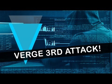 Verge Attack Third Time (XVG 51% Attack)