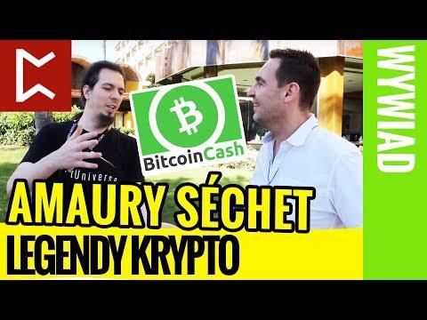 Wywiad: Twórca Bitcoin Cash – Amaury Séchet (Legendy Krypto)