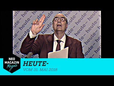 heute- vom 31. Mai 2018   NEO MAGAZIN ROYALE mit Jan Böhmermann – ZDFneo