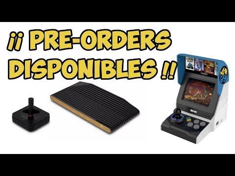 Disponibles ya las reservas de  Atari VCS y  posiblemente la de Neo Geo mini SNK ¿ merecen la pena ?