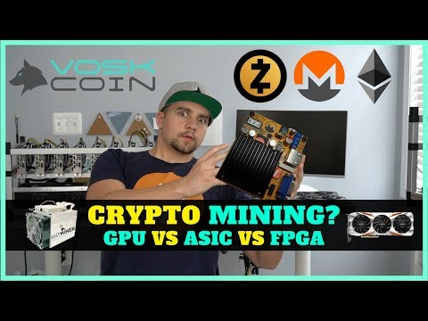 The Outlook on Cryptocurrency Mining – GPU vs ASIC vs FPGA