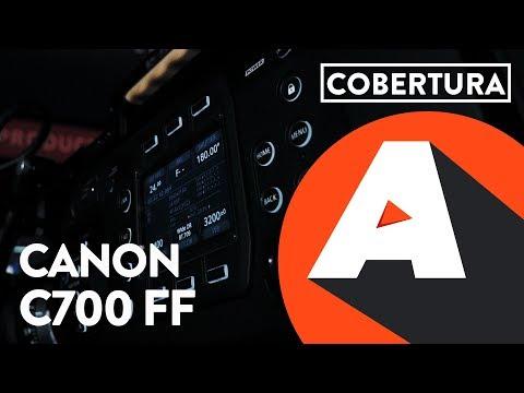 Canon EOS C700 Full Frame EF uma camera de cinema – NABSHOW