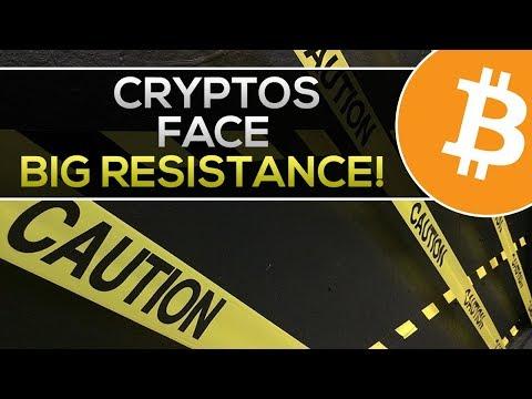 Be Ready, CRYPTOS Face BIG RESISTANCE Ahead! + Huge IOTA News