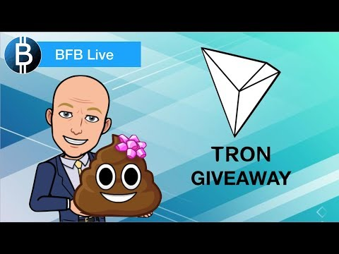 LIVE: IOTA Trinity Wallet Is FINALLY Here! EOS Vulnerabilities 😥And TRON (TRX) Giveaway Contest!