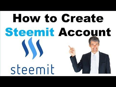 [বাংলা How to Create a New Account on Steemit in Bangla.
