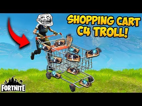 EPIC *NEW* Shopping Cart TROLL! – Fortnite Funny Fails and WTF Moments! #212 (Daily Moments)