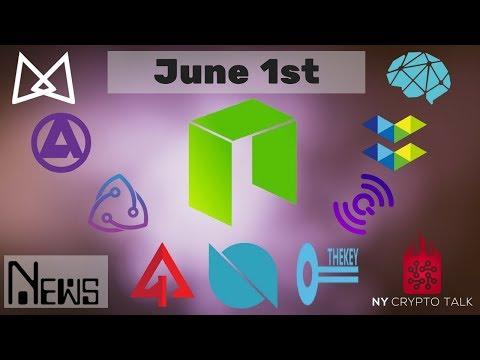 NEO News June 1st 2018 – Ontology | Elastos | AlphaCat | QLC | DeepBrain | Bridge Protocol | Asura
