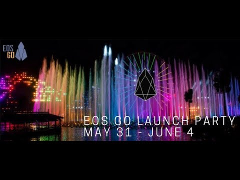 EOS Go Launch Party – Day 2 – Token Distribution Ends