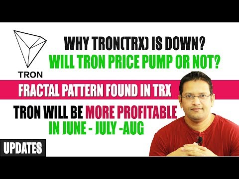 Why TRON(TRX) price is going down? Will TRON price pump or not? Fractal Patterns found in TRON TRX