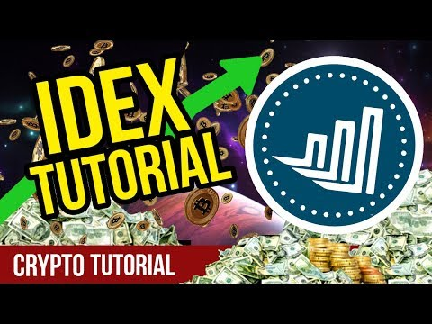 How to Use IDEX! – IDEX Tutorial – IDEX CryptoCurrency Exchange How To