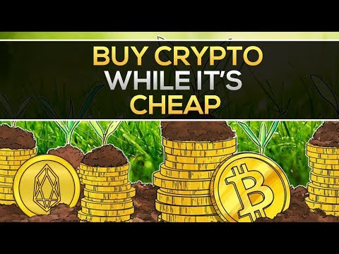 Time To BUY CRYPTO While It's CHEAP!? + Big EOS News
