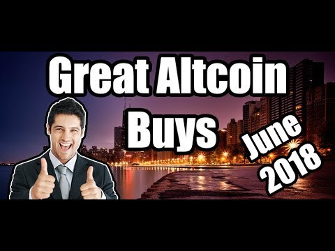 3 Great Altcoin Buys RIGHT NOW – June 2018 [Cryptocurrency/Altcoin Best Investment]
