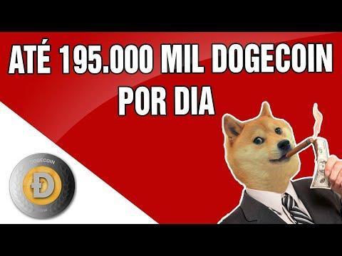 AGORA DÁ PRA GANHAR ATÉ 195.000 MIL DOGECOIN POR DIA COM A DOGEMINER