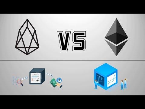 Криптовалюта EOS vs Ethereum | EOS 2018 Прогноз