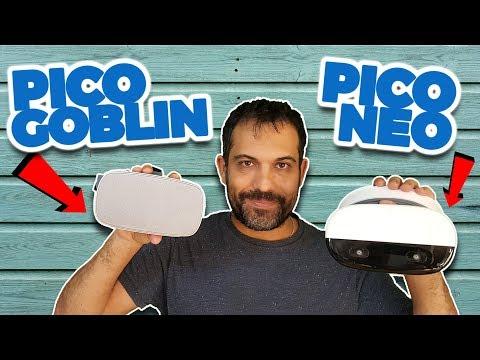 GAFAS VR SIN MÓVIL NI PC | Pico Goblin y Pico Neo (Stand-Alone Realidad Virtual)
