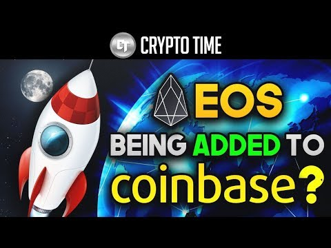 Is EOS Being Added To COINBASE? (EOS Price SKYROCKETS & Mainnet Launches)
