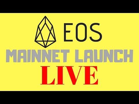 EOS Mainnet Launch LIVE