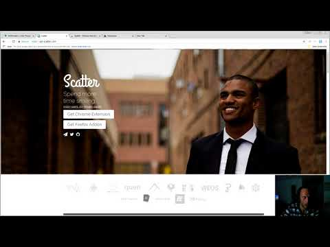 Voting using Scatter an EOS Portal