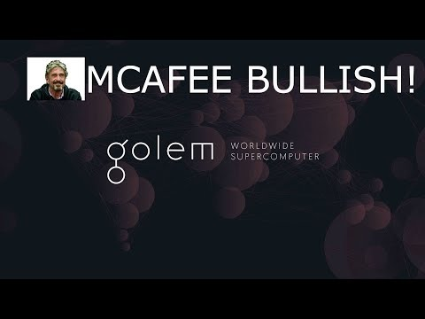 GOLEM GNT MCAFEE PUMP! CAN IT REALLY 10X? GOOD BUY?