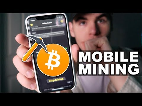 MINING CRYPTOCURRENCY *BITCOIN*  FROM YOUR PHONE! (IS IT PROFITABLE?)