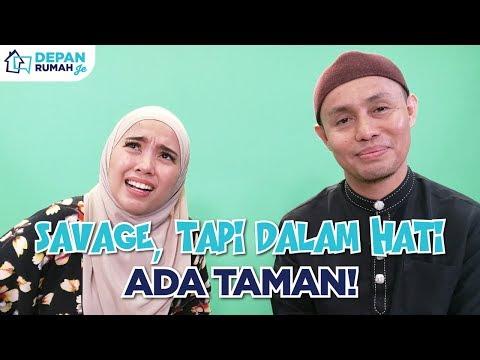 Depan Rumah Je | PU Azman Savage, Tapi Dalam Hati Ada Taman! Chewah Gitu!