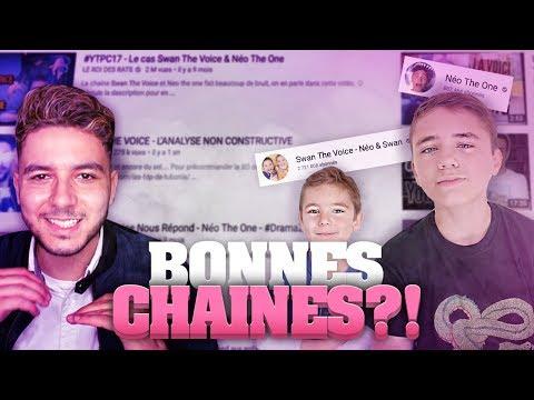 SWAN THE VOICE ET NEO THE ONE SONT DES BONNES CHAÎNES ?!