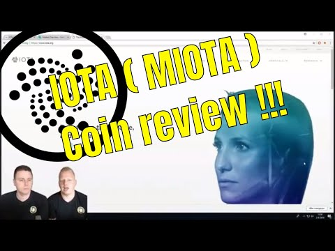 IOTA (MIOTA) Coin review!!!! IOTA cryptocurrency voorspelling 2018