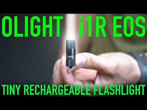 My Favorite EDC Light Yet! $20 OLight i1R EOS Tiny Rechargeable Flashlight
