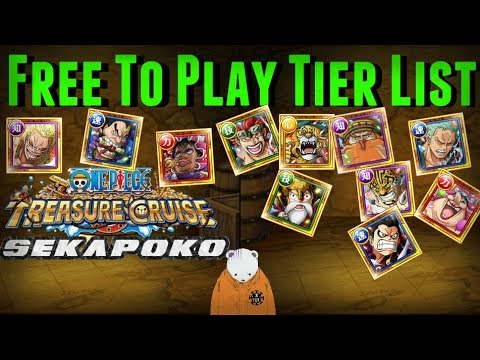 Free to Play Tier List | All Colosseum / Raids / Kai / Neo / TM Units | One Piece Treasure Cruise