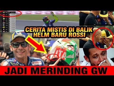 Rebut Pole GP Italia, Tak Diduga,Di Balik Helm Baru Rossi Ada Sesuatu Yang