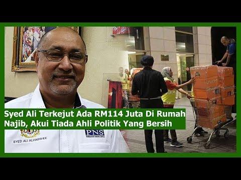 Syed Ali Terkejut Ada RM114 Juta Di Rumah Najib, Akui Tiada Ahli Politik Yang Bersih