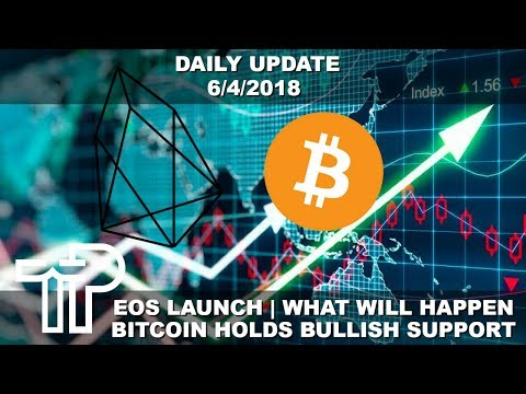 EOS Ecosystem Launch News & Bitcoin Bull Trap Or Bull Market? | Daily Update 6/4/2018