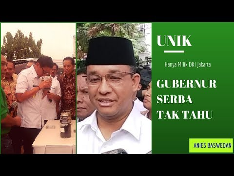 Mengejutkan !! Pemimpin  Serba Tak Tahu, Hanya Ada Di Dki Jakarta Loh