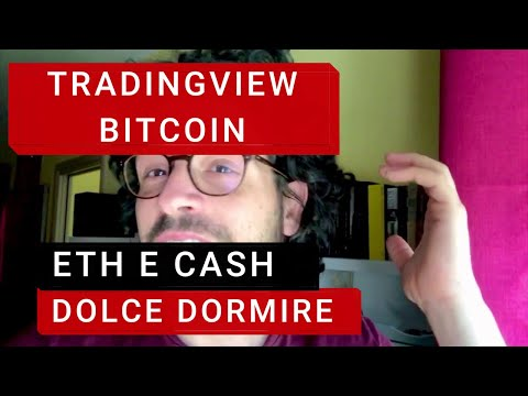 Tradingview Bitcoin, Ethereum e Cash. Dolce dormire!