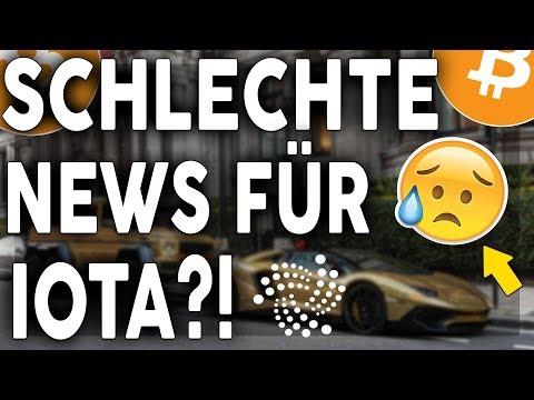 SCHLECHTE NEWS FÜR IOTA?!