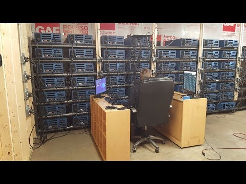 500 GPU Cryptocurrency Mining Center – Walkthrough