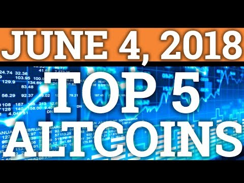 TOP 5 ALTCOINS THAT COULD MAKE YOU RICH (JUNE)! BEST CRYPTOCURRENCY TO BUY 2018! UNDERVALUED COINS!