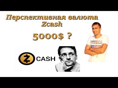 Перспективная валюта zcash 5000$ ?