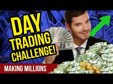 Day Trading Challenge! – CryptoCurrency Day Trading – How to Day Trade Crypto