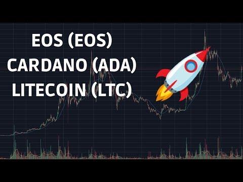 EOS CARDANO LITECOIN Price Updates