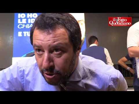 """Salvini: """"Non ho detto che chiunque venga dalla Tunisia sia un galeotto, ma esporta anche quelli"""""""